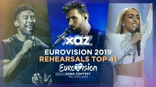Eurovision 2019: Rehearsals - Top 41