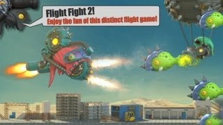 Flight Fight 2 HD IOS Gameplay Trailer (HD)