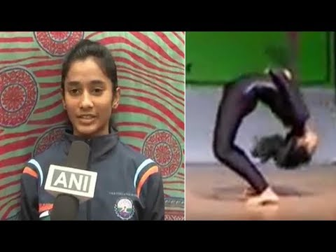 13-year-old sets yoga world record in Mysore