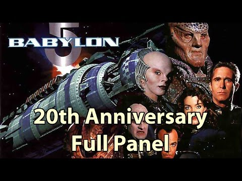 Babylon 5 20th full cast Reunion HD pt2 Phoenix Comicon Panel