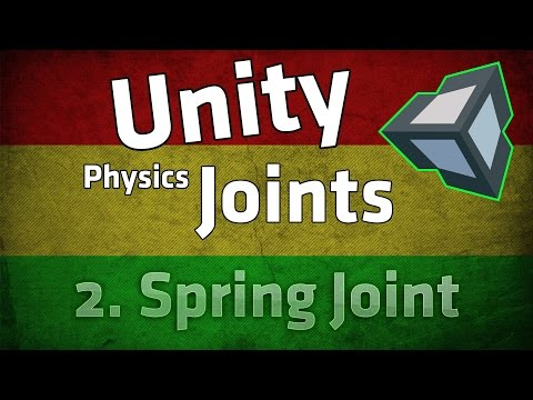 Unity Physics Joint Tutorial: Spring Joint