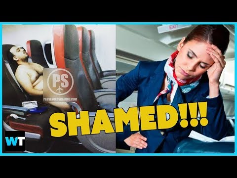 The WORST Airplane Passengers of ALL TIME are PUBLICLY SHAMED