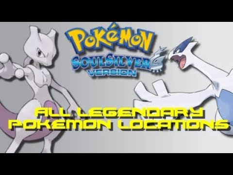 Pokemon Soul Silver: ALL Legendary Pokemon Locations