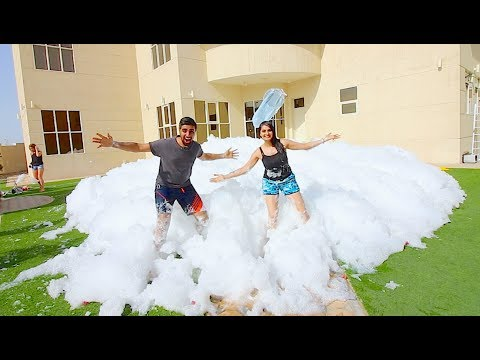 Download Youtube: WE FILLED OUR HOUSE WITH FOAM *100,000 LITRES* !!!