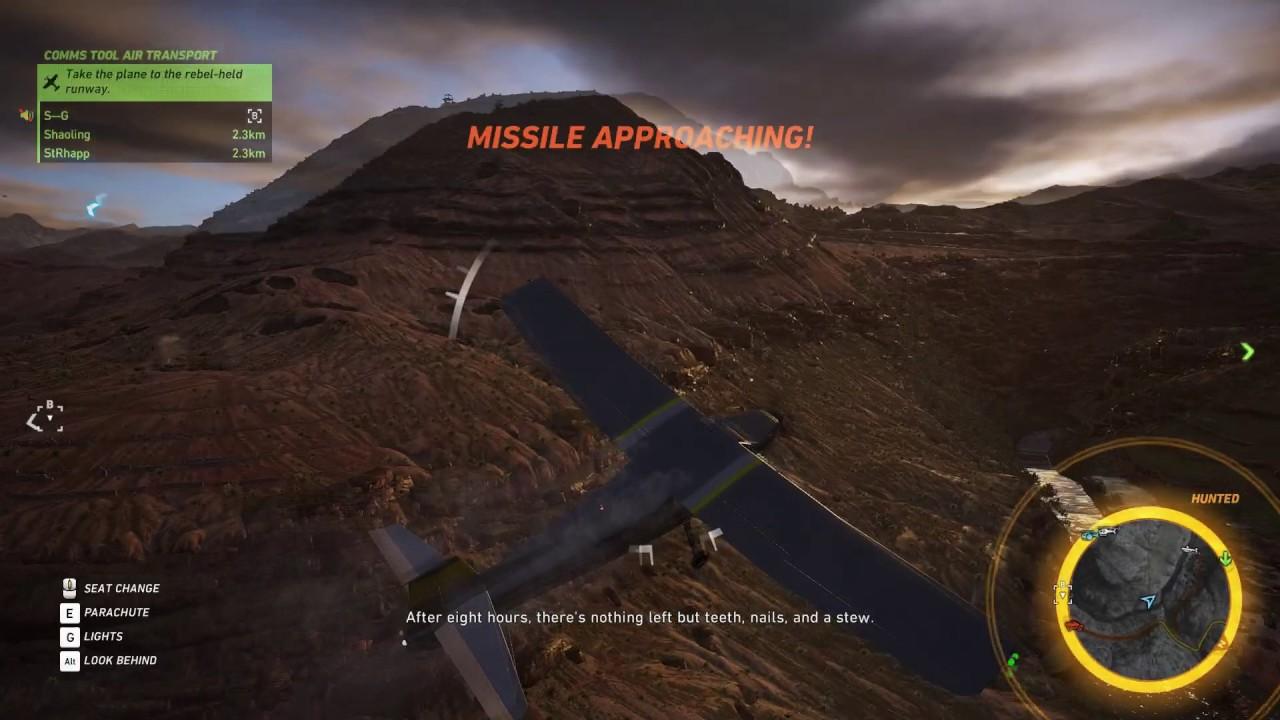 Ghost Recon Wildlands: Supply Drop Plane Escape