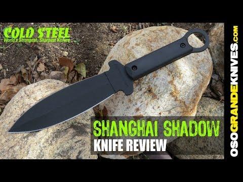 Cold Steel Shanghai Shadow Dagger Knife Review | OsoGrandeKnives