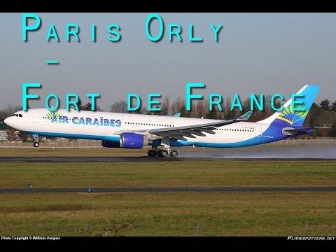 FSX Timelapse #4 | Paris Orly - Fort de France A333 Air Caraibes