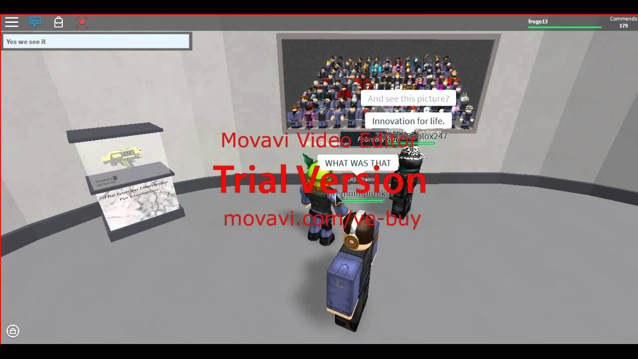 Roblox Joining innovation security 3 XD by frogo13