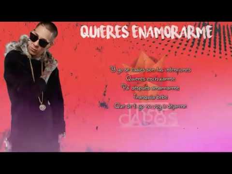 Noriel-Quieres Enamorarme-REMIX (LETRA)