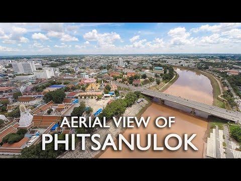 Aerial view of Phitsanulok by KORO Films วีดีโอมุมสูงพิษณุโลก