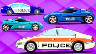 Police Car | Formation And Uses | Vehicle Videos For Babies By Kids Channel