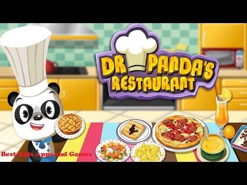 Restaurant Dr Panda - Ресторан доктора Панды Развивающая Игра Для детей На Андройд обзор