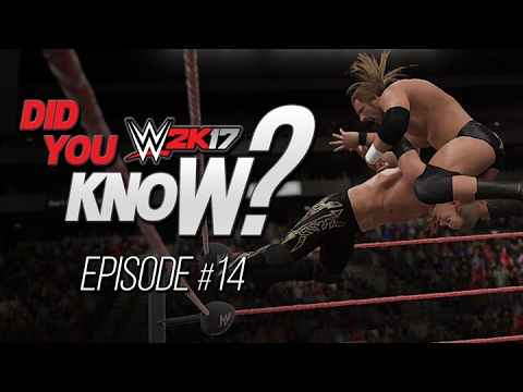 WWE 2K17: Did You Know? Top Rope Super Finishers, Hidden Reversals/Pin Combos & More! (Episode 14)