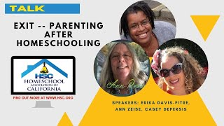 HSC 2020 Virtual Conference  Parenting After Homeschool