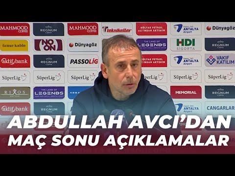 Abdullah Avcı: \