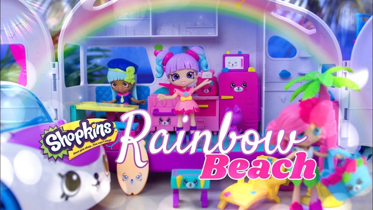 Unbox Daily: Shopkins Rainbow Beach   ULTIMATE HAUL