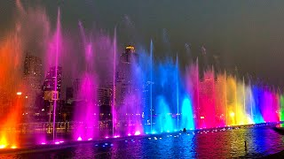 MOST AMAZING WATER FOUNTAIN IN BANGKOK | Iconsiam Iconic Multimedia Water Features Bangkok, Thailand
