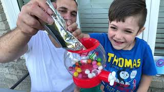 DIY Gumball Machine Maker with learn and play with Zack
