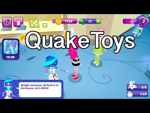 New Equestria Girls Friendship Games App Long Version Scan DJ Pon-3 Canterlot High Playset &More MLP