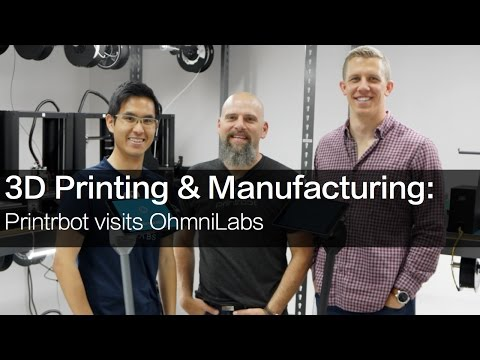 Printrbot Visits OhmniLabs
