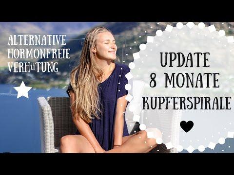 Kupferspirale 8 MONATE UPDATE   Periode, Blutung, Schmerzen  Girls Love Real Talk by Kathi Lena