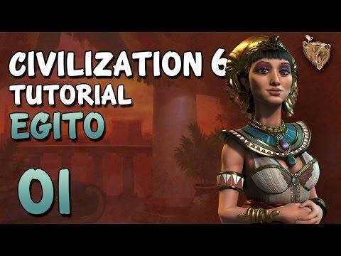 Civilization 6 Tutorial Egito #01 - Como Jogar Civ 6 Português PT-BR