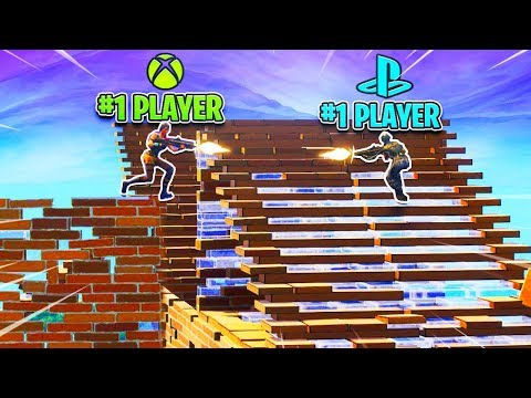 #1 XBOX Player vs. #1 PS4 Player! Best Fortnite Console Players 1v1! (PS4 vs XBOX)