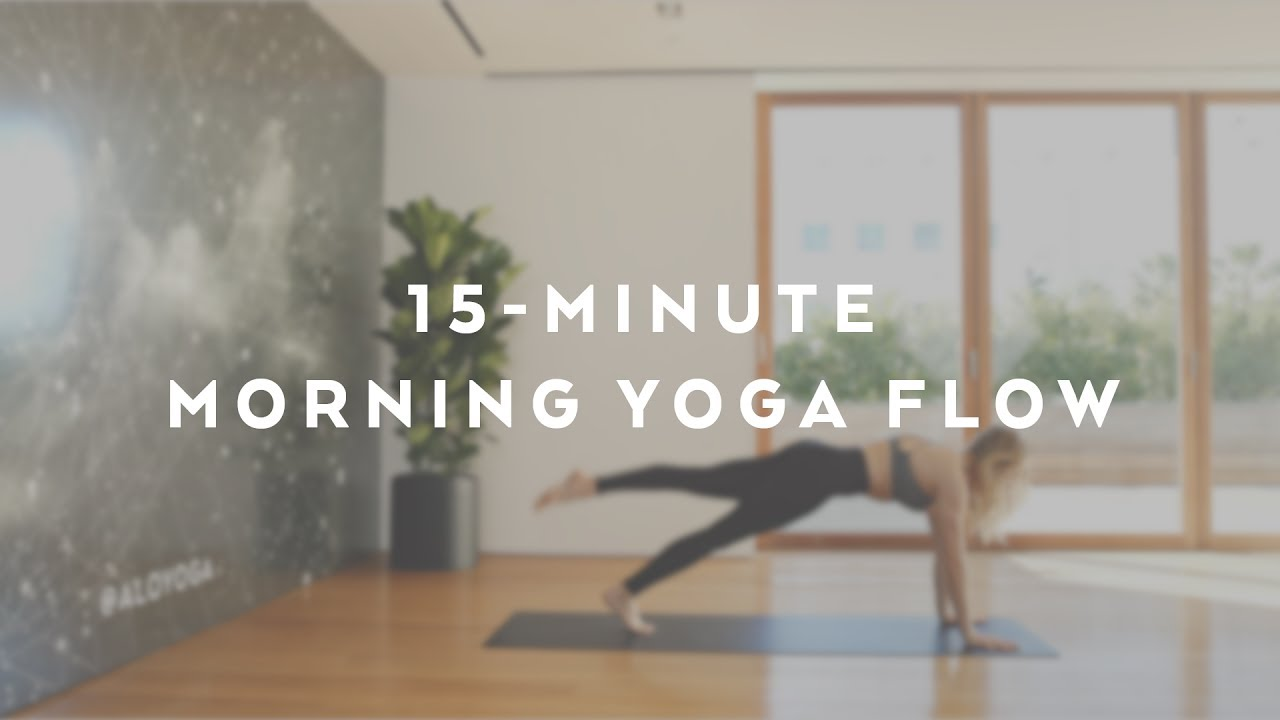 15-Minute Energizing Morning Flow with Caley Alyssa