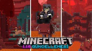 Minecraft 1.16 Güncellemesi - Bilmeniz Gereken Her şey ! (Tüm Yeni Özellikler ve Bilmedikleriniz)