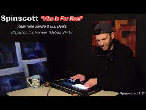 """""""VIbe Is For Real"""" - LIVE Jungle & 808s on Pioneer TORAIZ SP-16"""