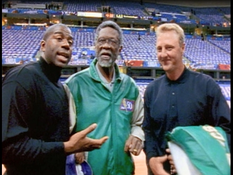 NBA at 50 During 1997 All Star Weekend | 50 Greatest Players!