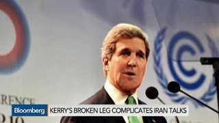 Kerry's Cycling Accident May Complicate Iran Talks