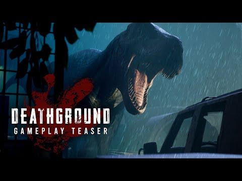 Deathground Gameplay Teaser   Dinosaur Survival Horror Game