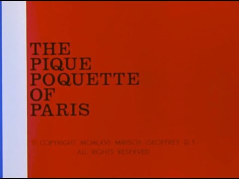 The Inspector: THE PIQUE POQUETTE OF PARIS (TV version, laugh track)