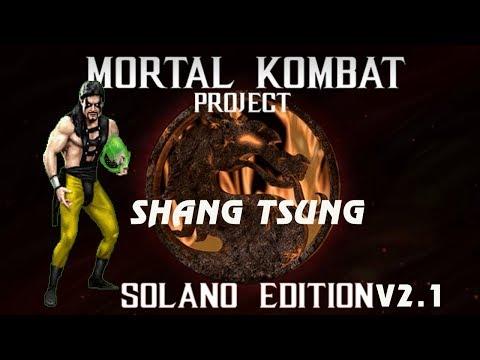 Mortal Kombat Project Solano v2.1 - Shang Tsung Playthrough