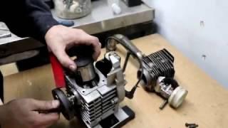 Тест моторного масла Eni Kart 2T
