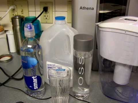 Bottled Water Vs WellBlue PH Ionizer Pitcher - Part 1