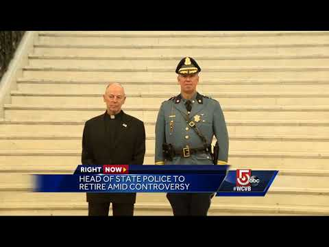 State police leader to retire amid controversies