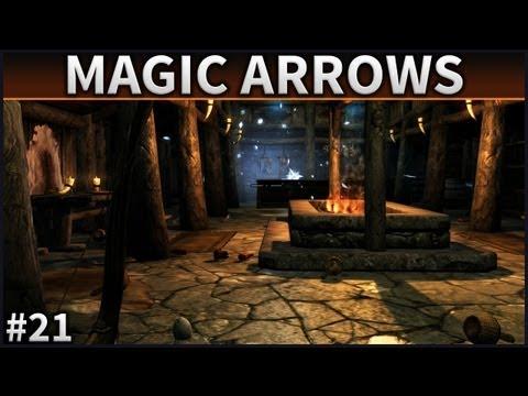 Skyrim Mod Spotlight - #21 - Magic Arrow Mod - 동영상