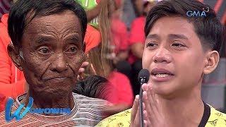 Wowowin: Garbage collector na ama, ipinagmamalaki ng anak (with English subtitles)