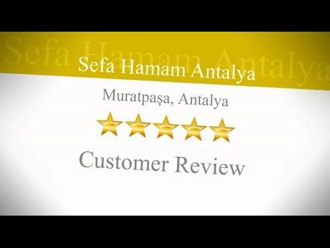 Sefa Hamam in Antalya - 5 Star Testimonial Review by Aida Tesfai