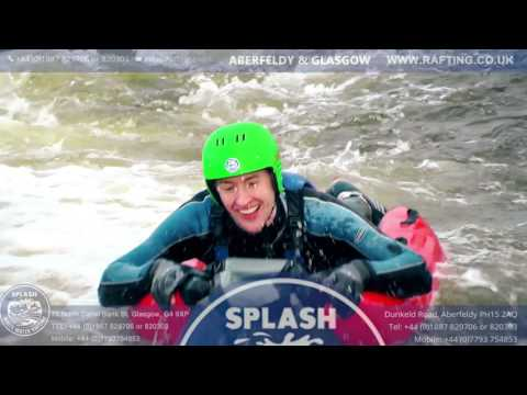 Glasgow River Bugging with Splash White Water
