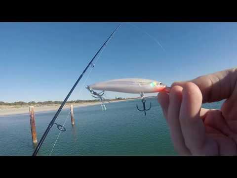 Lure Fishing At Ammo Jetty (WA)