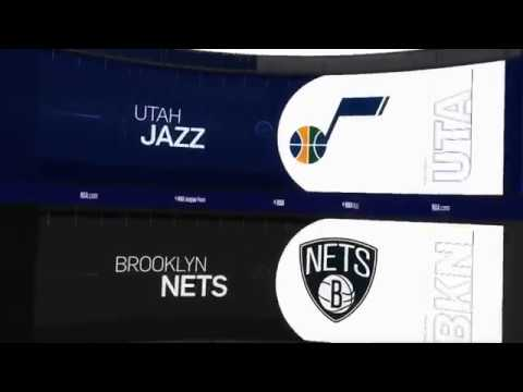 Utah Jazz vs Brooklyn Nets Game Recap | 11/28/18 | NBA