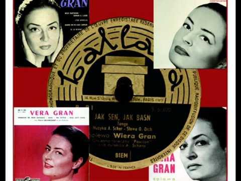 WIERA (VERA) GRAN - SERCE MATKI 1951 r.