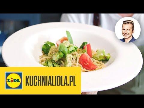 Spaghetti Z Pesto Brokulowym Karol Okrasa Kuchnia Lidla Youtube