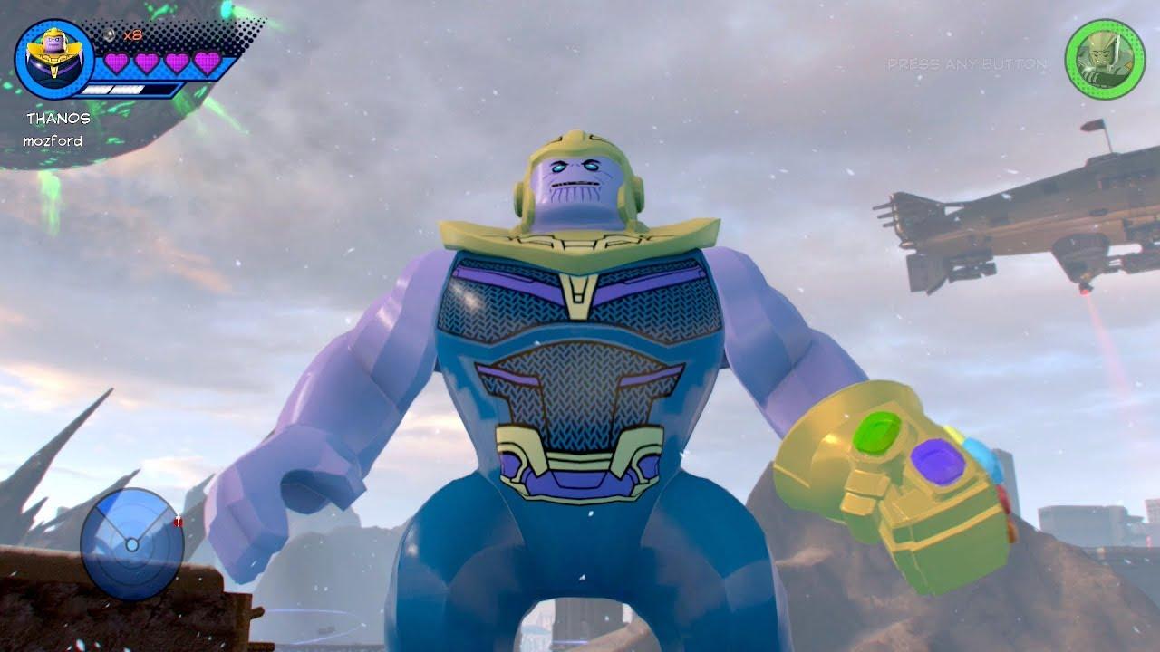 marvel superheroes 2 unlock thanos