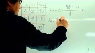 Mediana y cuartiles Matematicas 1 Bachillerato Academia Usero Estepona