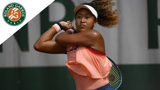 Naomi Osaka vs Zarina Diyas - Round 2 Highlights I Roland-Garros 2018