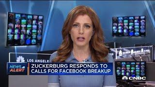 Facebook's Mark Zuckerberg says company does not have dominant market position